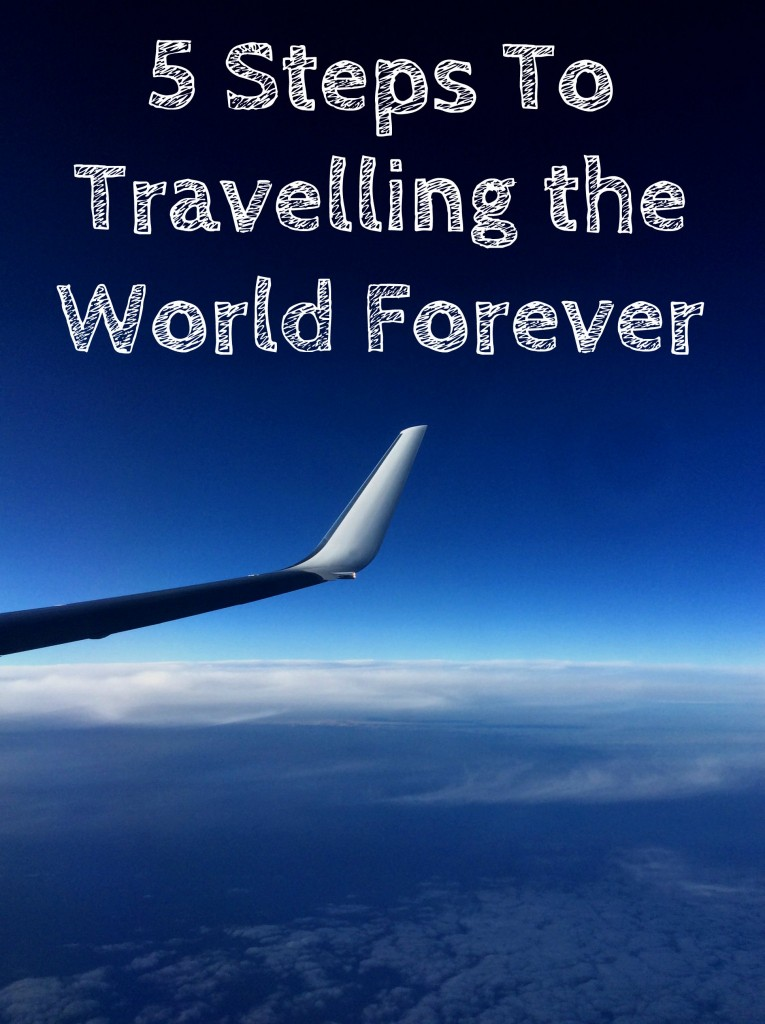 5 Steps To Travelling The World Forever