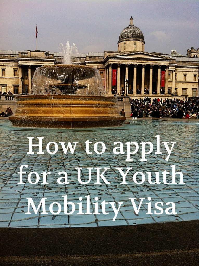 How to apply for a UK Youth Mobility Visa