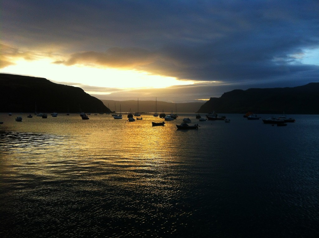 Sunrise Portree Isle of Skye Weekend