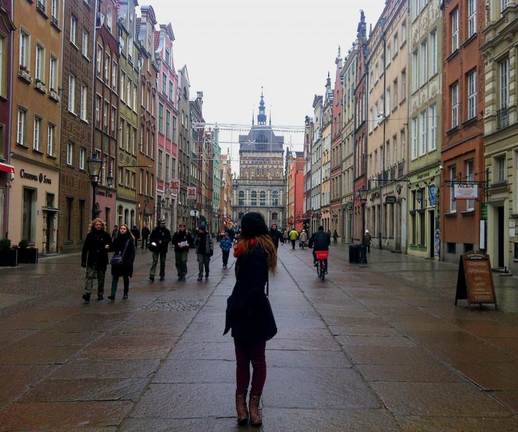 Gdansk Winter Travel Poland Europe