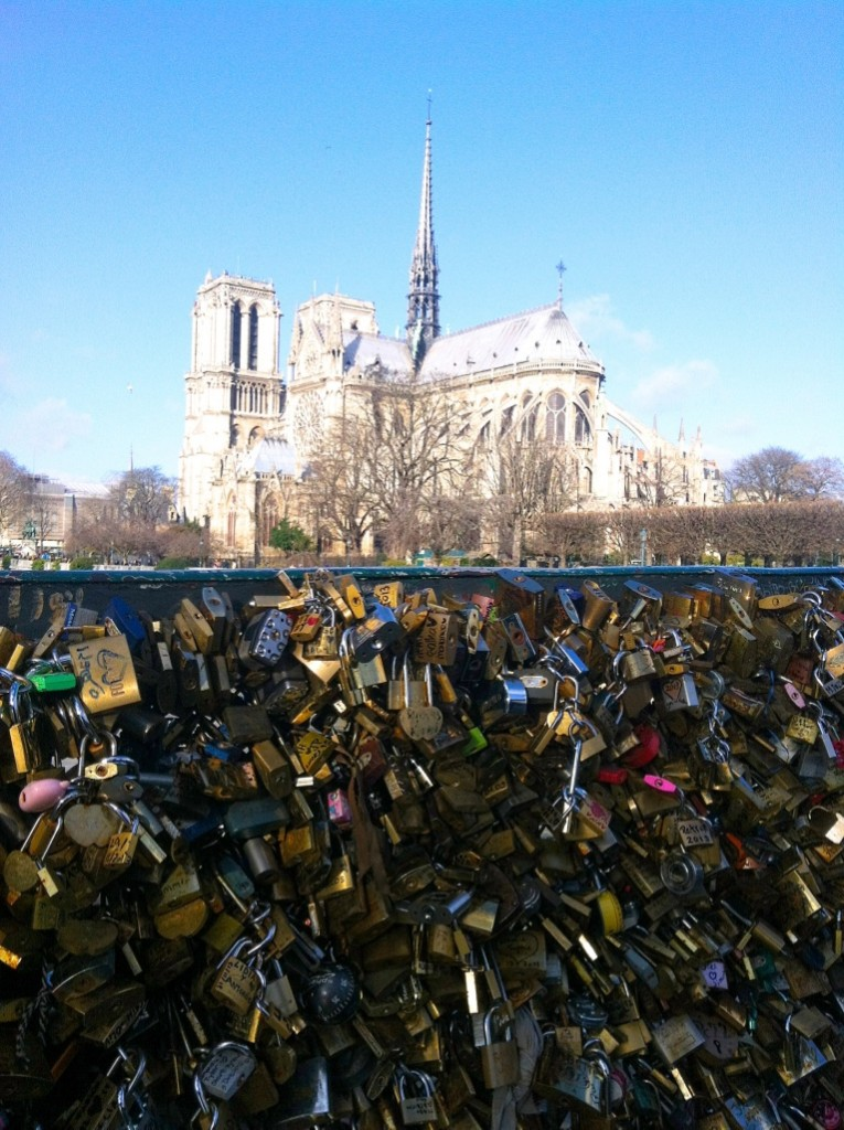 Top Things To Do In Paris - Love Locks Bridge