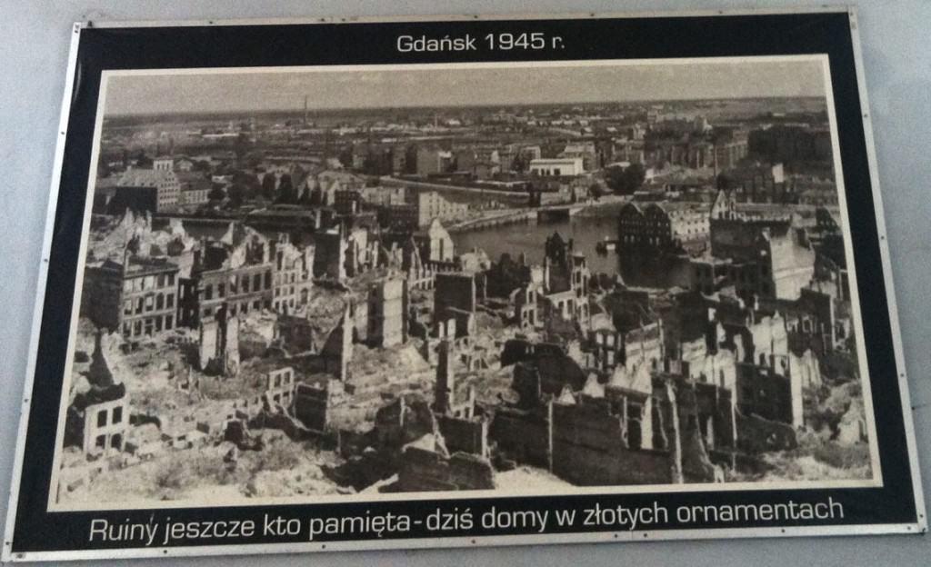 Gdansk Poland WWII Travel Europe Winter