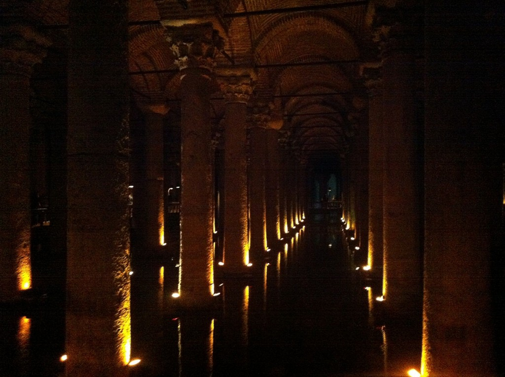 Basilica Cistern Sultanahmet Istanbul Turkey