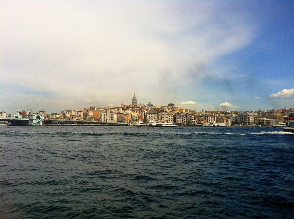 Ferry to Kadikoy Turkey Istanbul