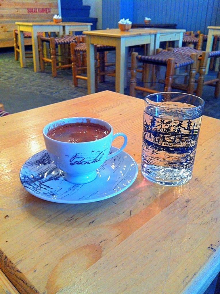 Turkish Coffee Galata Istanbul Turkey