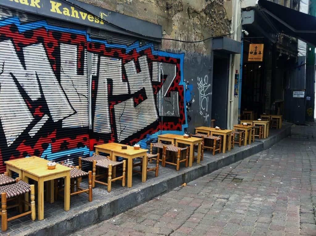Galata Istanbul Turkey Coffee Shop