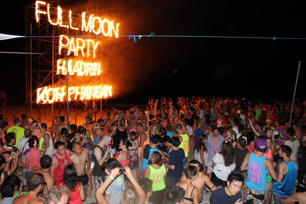 Lessons From the Full Moon Party Thailand