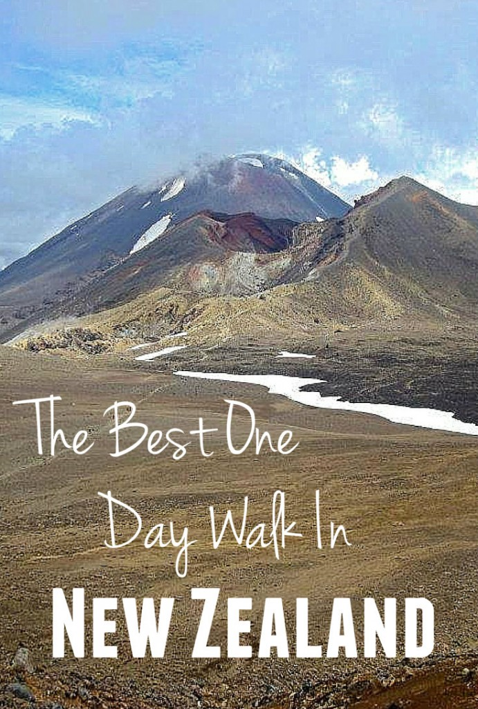 Tongariro Crossing Best One Day Walk New Zealand