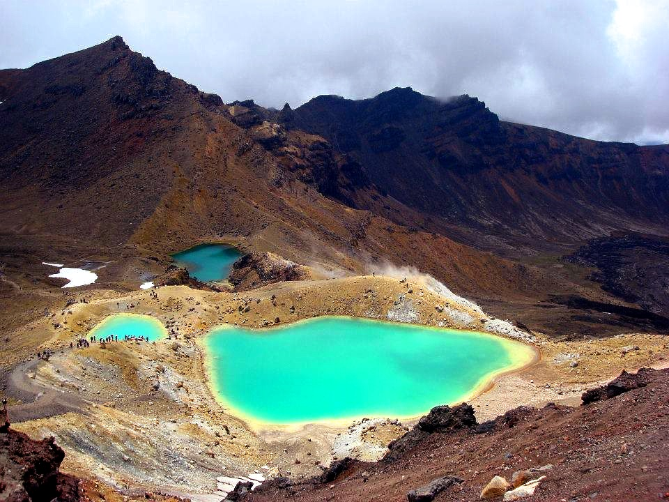 Tongariro Crossing Best One Day Walk New Zealand
