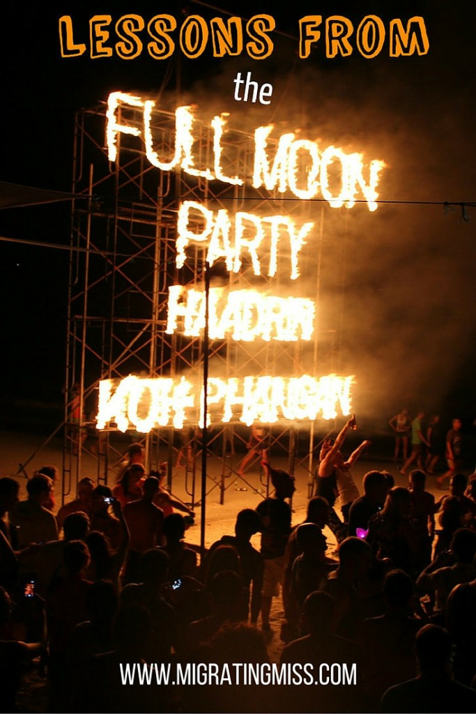 Full Moon Party Thailand Ko Phangan