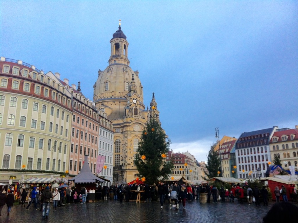 Dresden Cathedral Christmas Market