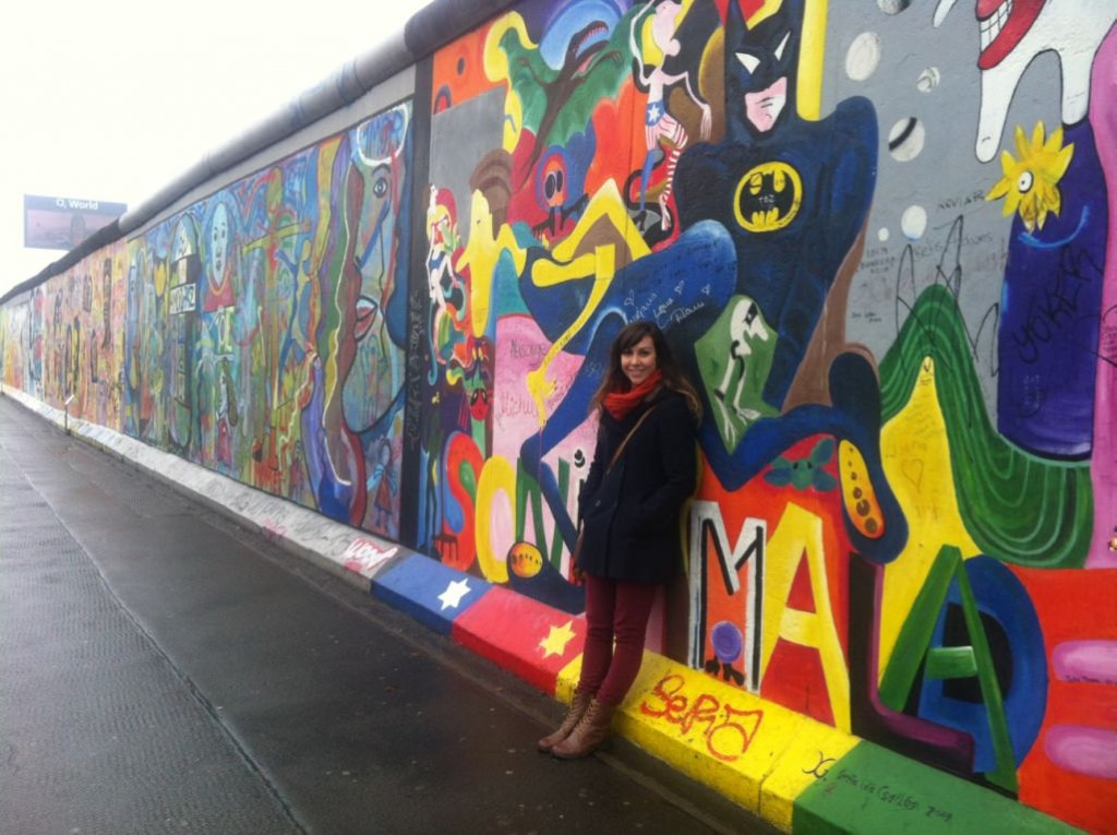 East Side Gallery Berlin Winter