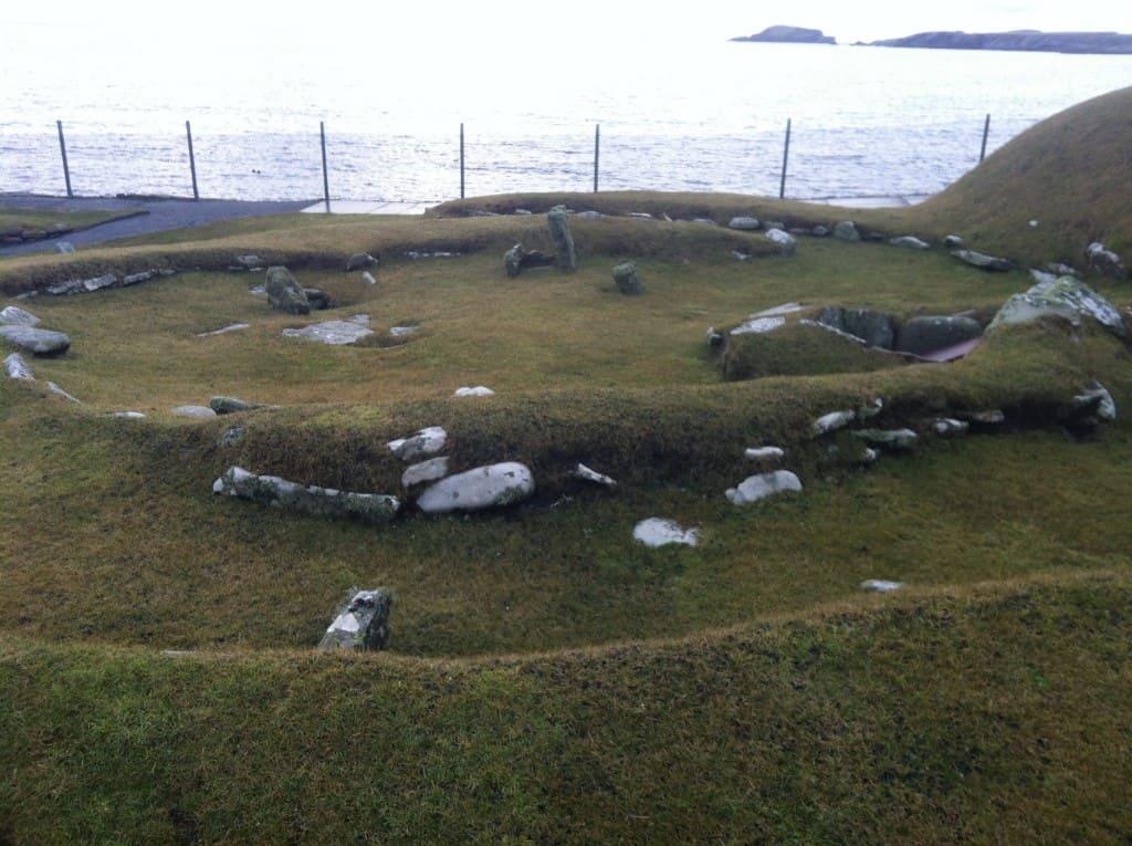 Jarlshof Shetland Bronze Age Historical Site