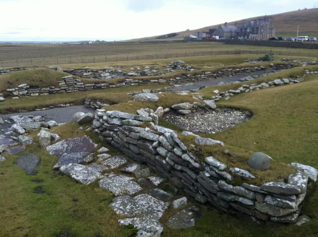 Jarlshof Shetland Viking Historical Site