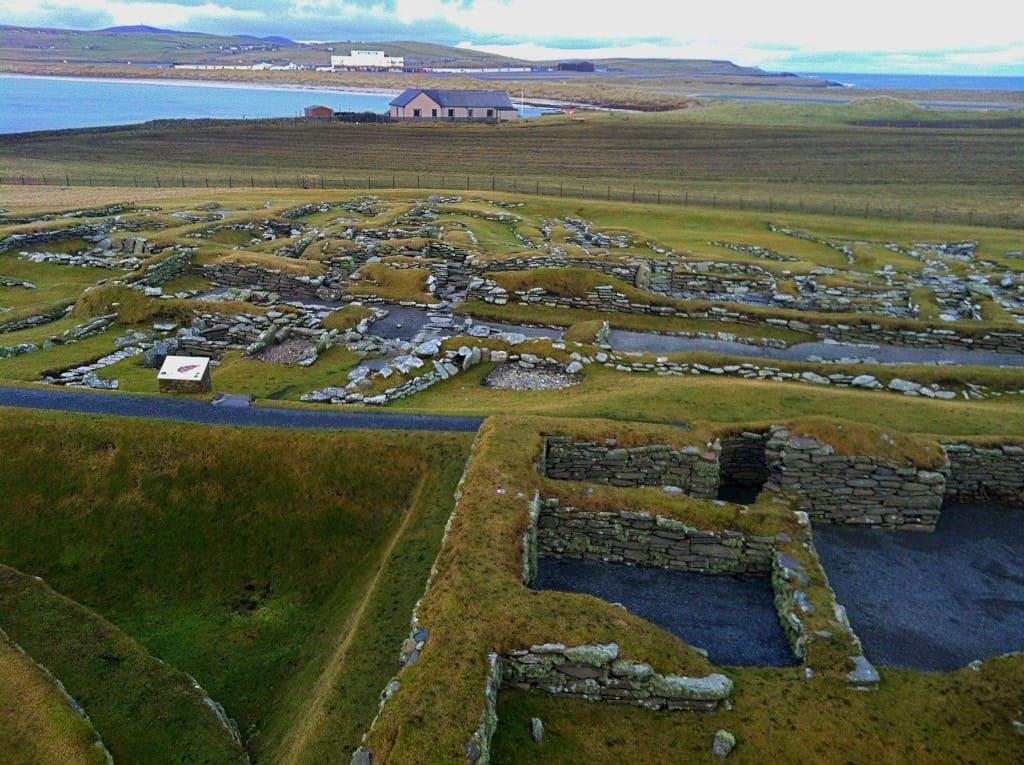 Jarlshof Historical Site Shetland Scotland Vikings