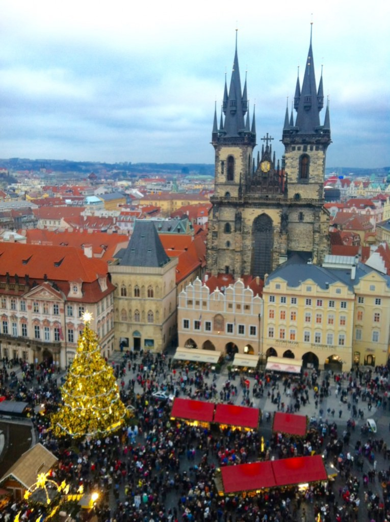 Prague Christmas Market Winter Travel