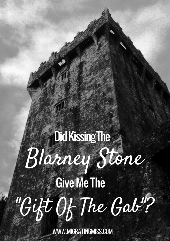 Blarney Castle Kissing the blarney stone ireland cork