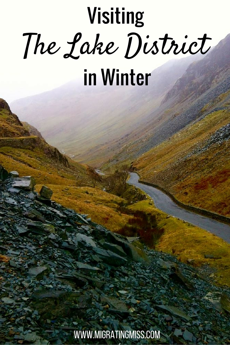 The lake district in january