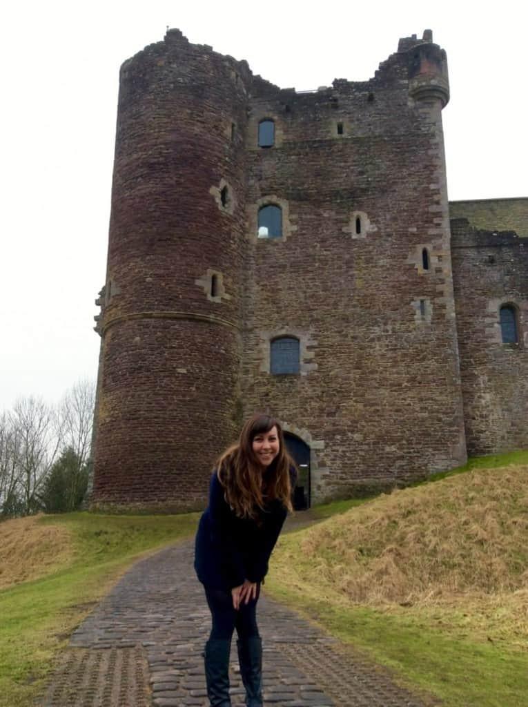 doune castle scotland road trip monty python