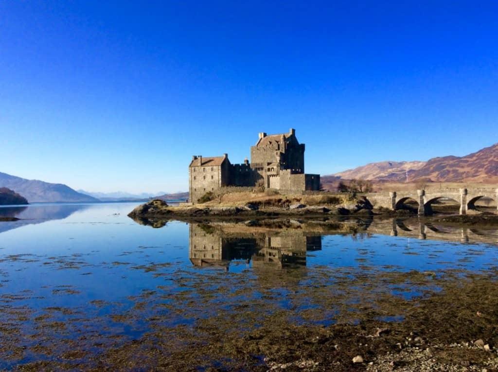 eilean donan castle scotland road trip