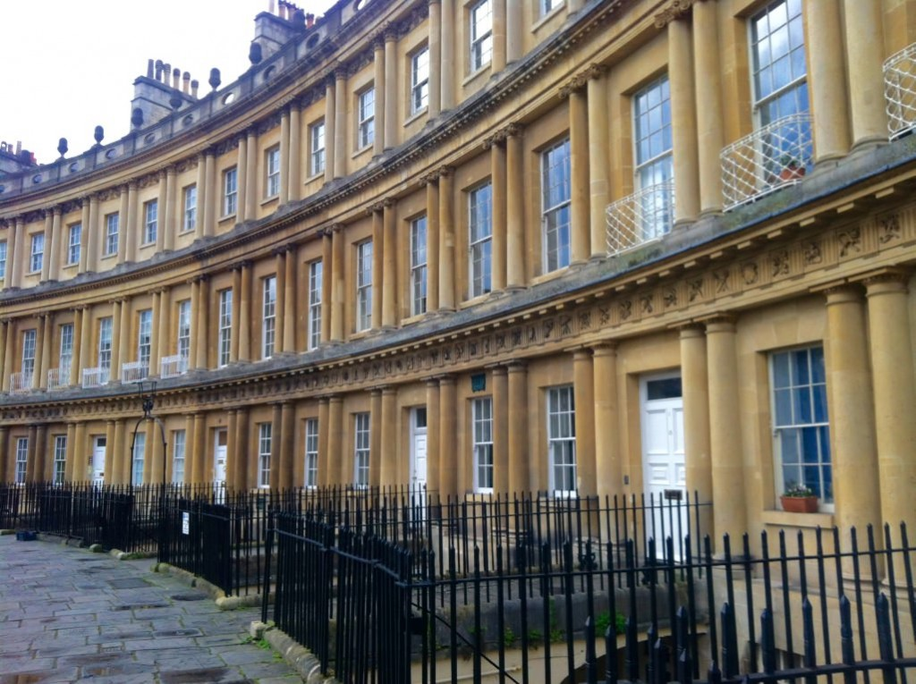 royal crescent bath england jane austen