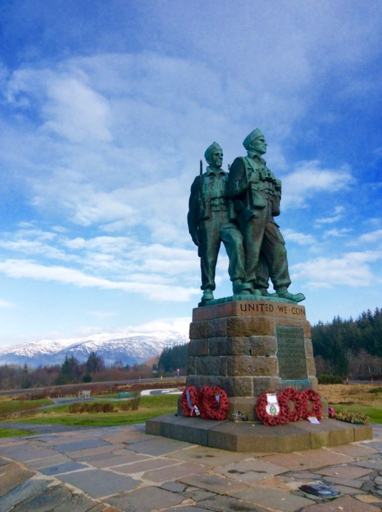 commando memorial scotland road trip