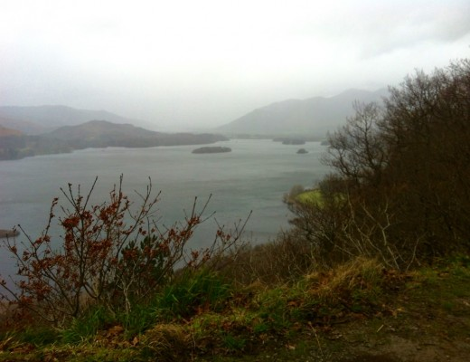 the lake district in winter january