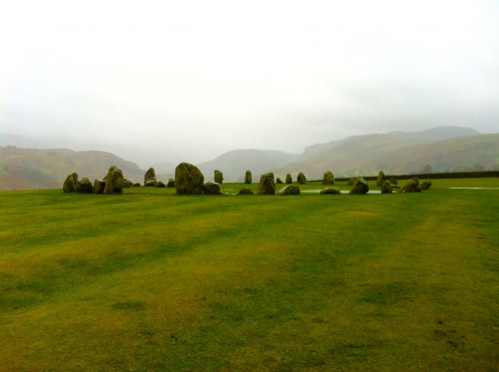 castlerigg stone circle lake district winter january