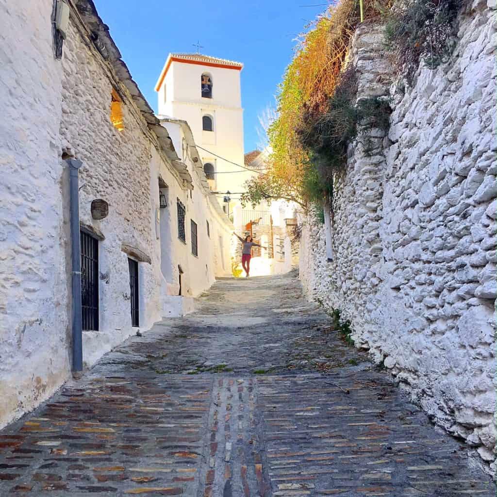 Walking Pampaneira to Bubion