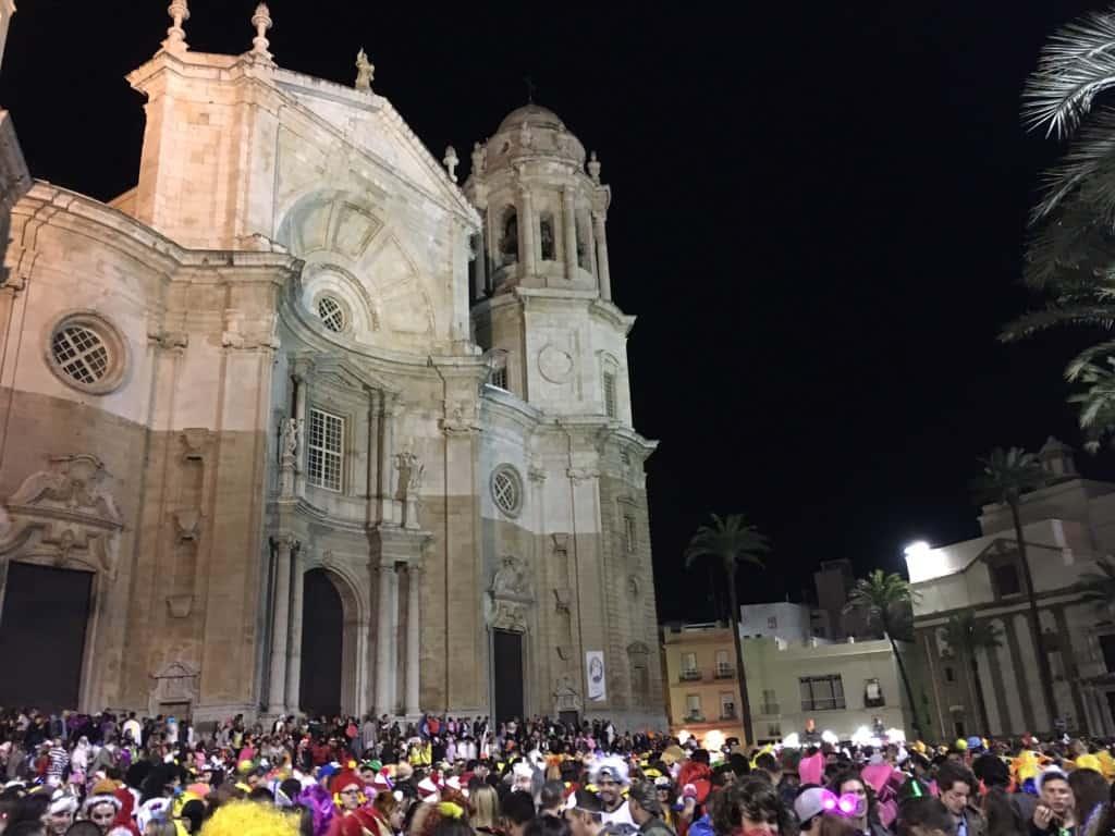 Almeria to Cadiz Carnival