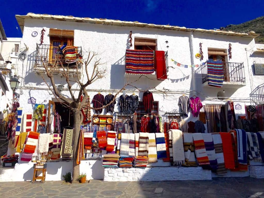 La Plaza Pampaneira Las Alpujarras