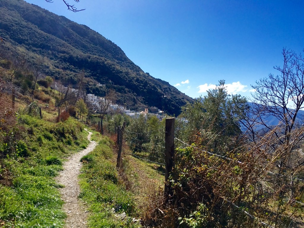 Walk Pampaneira to Bubion Las Aplujarras