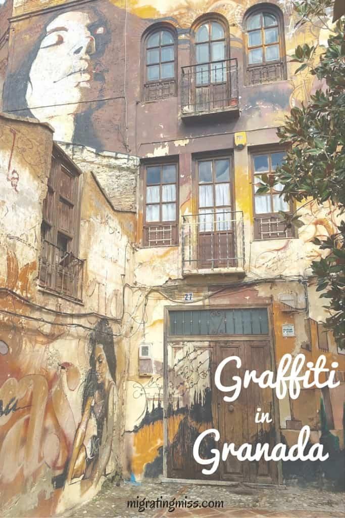 Graffiti in Granada Pinterest