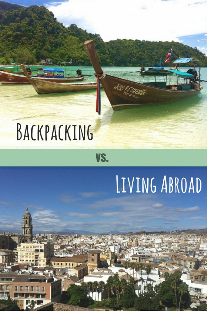 backpacker or expat