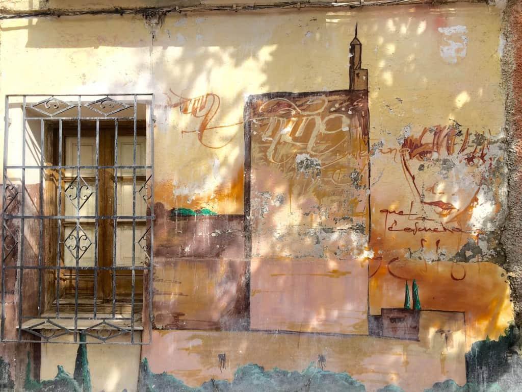 Graffiti and Street Art in Granada, Spain
