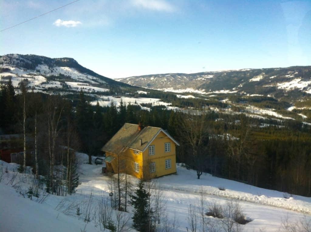 train oslo to bergen norway