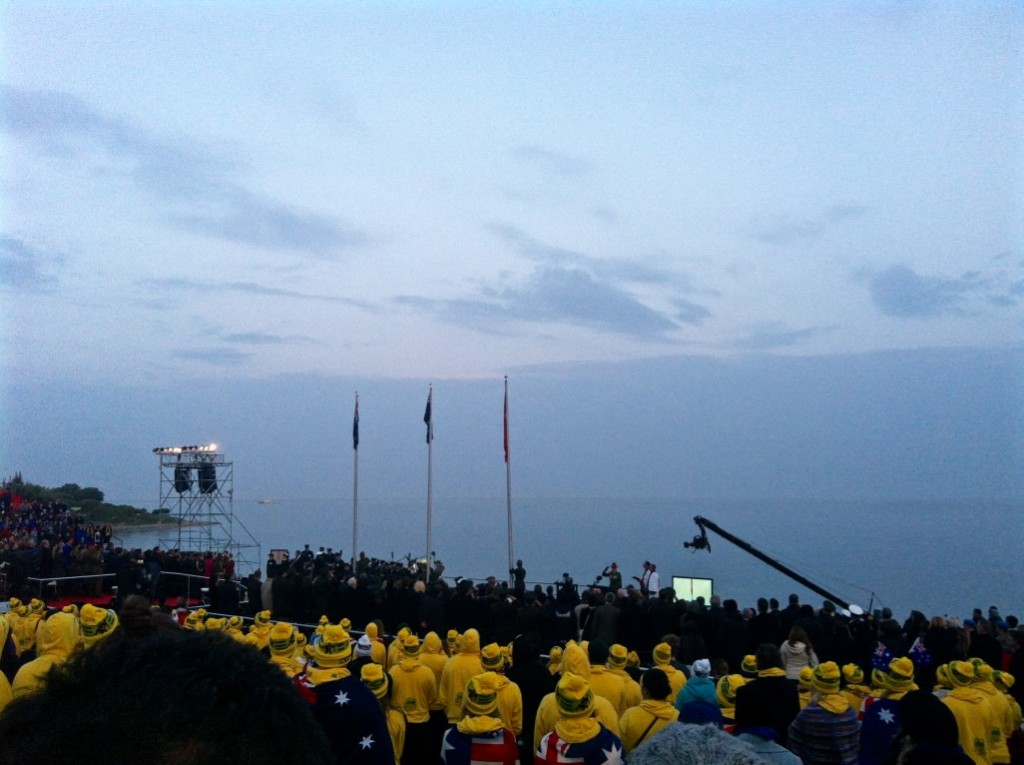 Anzac Day Ceremony Gallipoli