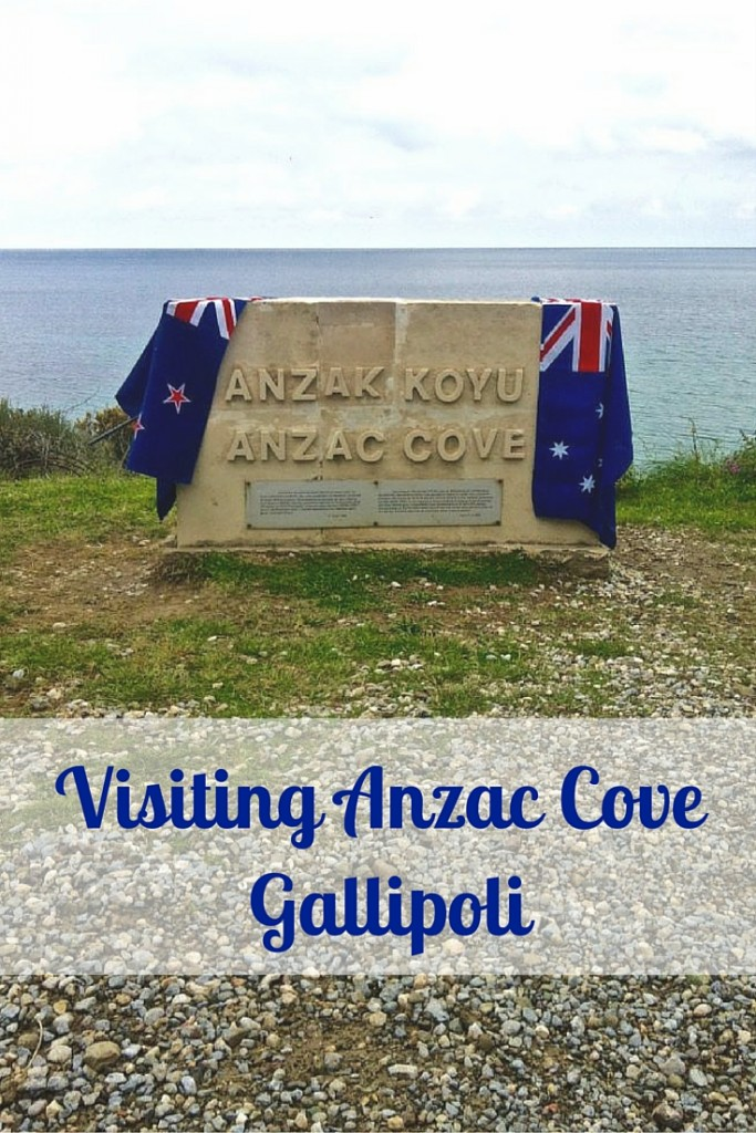 Visiting Anzac Cove Gallipoli