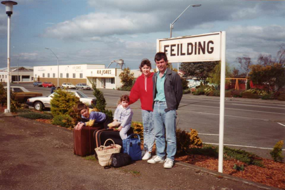 Family Holiday from Feilding New Zealand