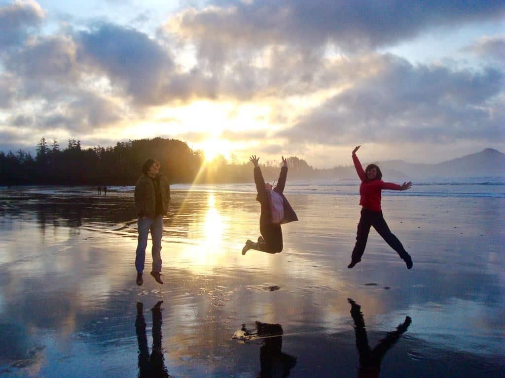 Tofino sunrise study abroad vancouver island