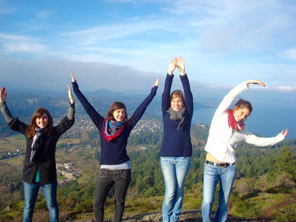 UVIC symbol studying abroad vancouver island canada