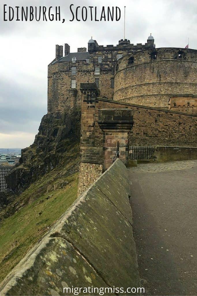Edinburgh Scotland Migrating Miss