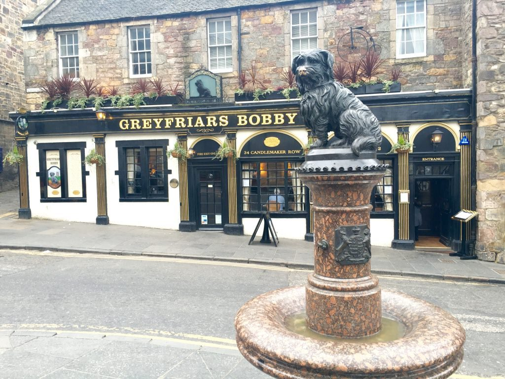 Greyfriars Bobby top things to see in Edinburgh
