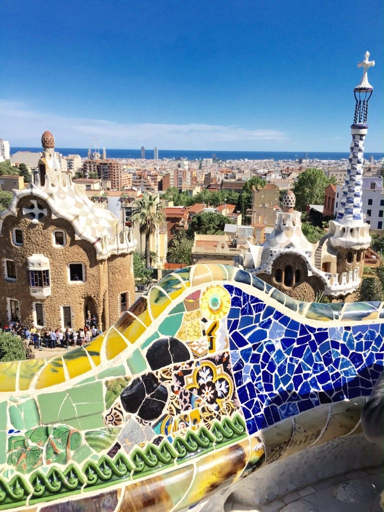 Did i miss the point in barcelona migrating miss for Barcelona jardin gaudi