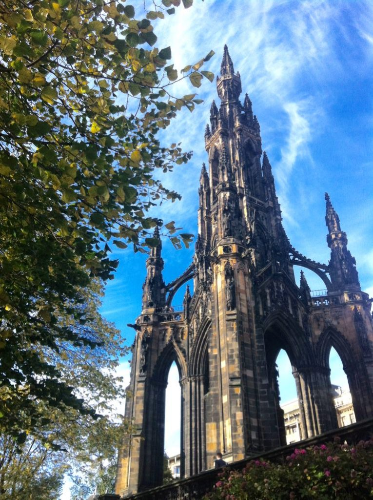Scott Monument Things to do in Edinburgh with Kids