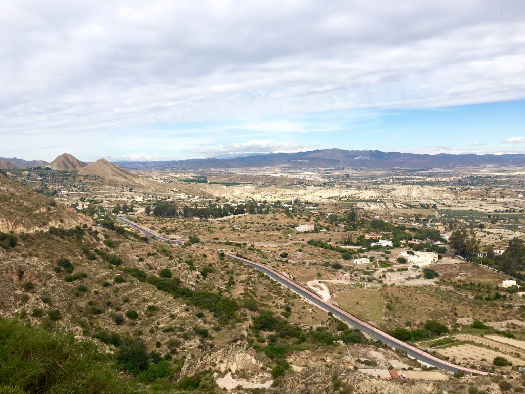 View from Mojacar Almeria