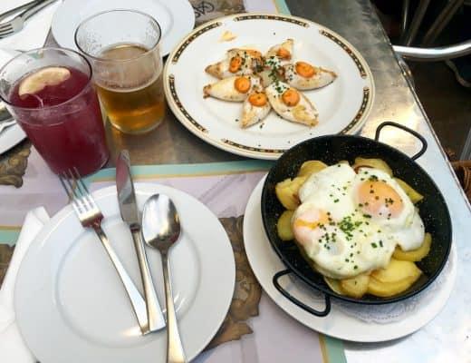 Tapas in Cordoba Spain