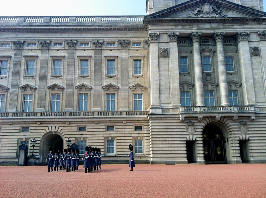 Buckingham Palace - London 4 day itinerary