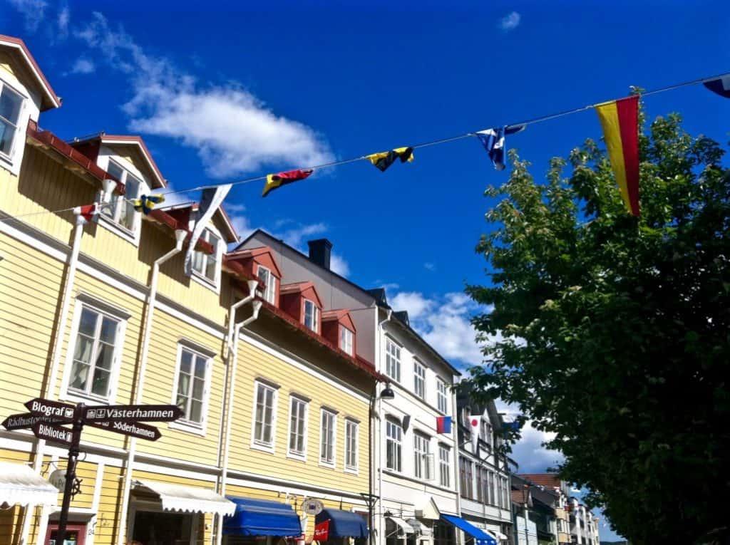Vaxholm Town Stockholm Archipelago