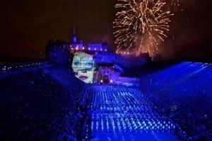 Bowie Edinburgh Tattoo Castle Festival
